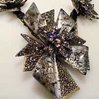 SOLD OUT! ALEXIS BITTAR CRYSTAL BIB NECKLACE $ 750 NWT