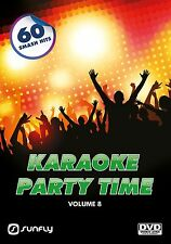 PARTY TIME VOL 8  SUNFLY KARAOKE DVD - 60 HIT SONGS