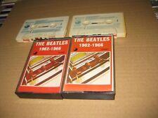 THE BEATLES SPANISH 2 X CASSETTE THE BEATLES 1962-1966