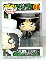 Funko Pop Rocks ALICE COOPER WITH TOP HAT #68 Vinyl Figure Collectible NEW