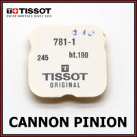 • TISSOT Cal. 781-1 Cannon Pinion, Genuine, NOS, Part No. 245, Height 1.90mm •