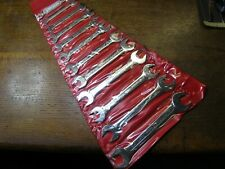 "1 - Set (12) ENGLISH MADE Stanley PROTO Open Ended Imperial Spanners. 1/4"" - 1"""