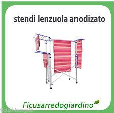 Stendi Biancheria Stendino Lenzuoliere Stendi Lenzuola In Alluminio - 4 Ali