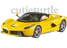 Hot wheels Elite Ferrari LaFerrari 2014 New Enzo 1:18 Limited BCT81 Yellow