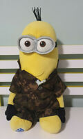 MINION BUILD A BEAR PLUSH TOY DRESSED IN CAMO 45CM PHIL DESPICABLE ME