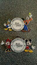 Walt Disney Year of a Million Dreams Pins x2