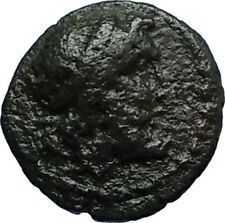 SYRACUSE in SICILY Authentic Ancient 214BC RARE R1 Greek Coin w POSEIDON i67176