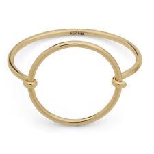 Gold Circle Statement Bangle   Pilgrim Jewellery bracelets in gift bag   Fashion