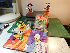 4-McDonald's Happy Meal Toys,Mickey Mouse,Goofy Minnie Mouse,Daffy Duck & 1-Box