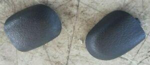 (2) 94-96 Infiniti Q45 Front or Rear Gray Grab Bar Screw / Bolt Covers