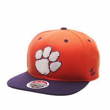 Zephyr Hat Z11 Clemson University Tigers Snapback Embroidered Cap---Brand New---