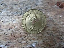 More details for vintage irish cap badge - early irish cadets brass uniform cap badge
