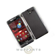 Motorola XT907 Razr M Shield Rubberized Metallic Gray Case Cover Shell Protector