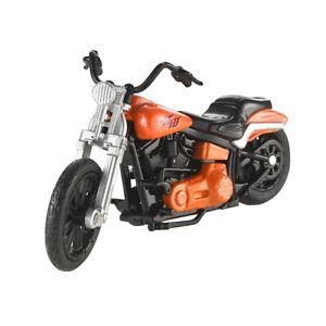"""Hot Wheels X4221-7721 Moto """" Rollin'Tonnerre """" Orange/Noir 1:18 Neuf !°"""