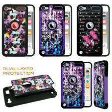 For iPod Touch 7th Gen - Studded Bling Rhinestone Diamond Case Cover Hard Soft