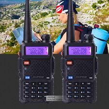 2pcs BaoFeng UV-5R VHF& UHF Dual-Band ham 2 way 5R Walkie Talkie Radio F Hunting