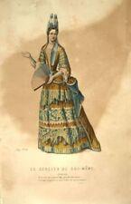 Le Geolier de soi-même  Isabelle Costume Théâtre Jean Racine gravure XIXème