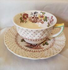 """Vintage Royal Doulton """"Grantham"""" D5477 Demitasse Cup & Saucer 1934 -1964 England"""