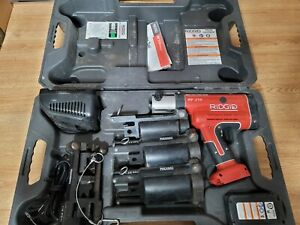 RIDGID RP 210  Compact Press Tool Hydraulic Crimping Tool With Pro Press Jaws
