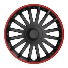 Universal Radkappen Radzierblenden CHRYSTAL schwarz 16 Zoll für TOYOTA Modelle