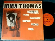 IRMA THOMAS Sings LP BANDY 700003 Bayou Soul ALLEN TOUSSAINT BAND