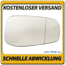 Spiegelglas für VOLVO S80 2003-2006 rechts Beifahrerseite asphärisch