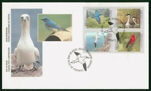 MayfairStamps Canada FDC Sealed 1997 Block Birds First Day Cover wwp68083