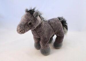 GANZ Grey Arabian Horse or Pony Plush Soft Toy HM098