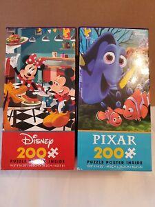 Ceaco Disney Friends & Pixar Finding Nemo Jigsaw Puzzle, 200 Pieces each