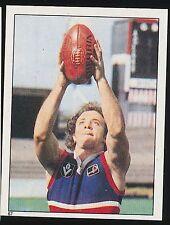 1983 Scanlens Stickers Footscray Bulldogs Michael Mckenna sticker No 67 mint