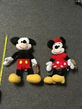 "Mickey Mouse And Minnie Mouse Kohls Cares 13"" Plush Figures"