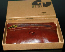 new Italian Italy leather Florence keychain with purse money bag