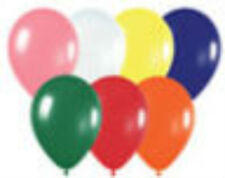 100 Fashion Assortment Latex Balloons Helium Grade 11""