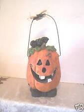 Illuminated Halloween Pumpkin Bat Decoration Harvest