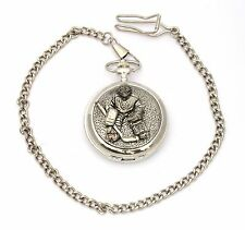 Ice Hockey G Pocket Watch Gift Boxed With FREE ENGRAVING Hockey Gift