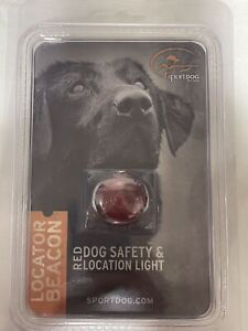 Sportdog Locator Beacon Red   Dog Safety & Location Light