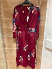 Monsoon Floral Wrap Dress