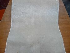 76 x 20 inches (193 x 51cm)  IVORY BEIGE THICK PILE CARPET RUNNER BN # 3060