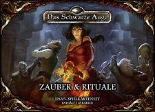 DSA5 Spielkartenset Zauber & Rituale Ulisses 2016 Neu & OVP