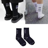 Women Men Cotton Sokcs High Street Skateboard Harajuku Sprots Socks FashiBB