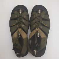 KEEN 1018941 Men's Newport Sandals Washable Olive Water/Hiking Shoes size 9.5 M