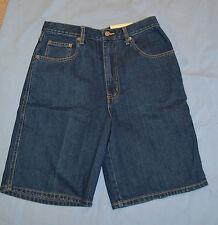 NWT Men's Sz 30 FALLS CREEK Relaxed Denim Blue Jean Shorts (4897)