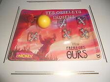 Tes Osselets Indiens Frères des Ours cadeau Journal de Mickey N°2693 Disney 2004