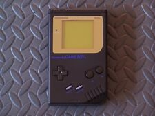 Black Nintendo gameboy DMG-01-mint condition-Limited Edition Gold Border Screen