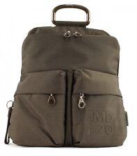 MANDARINA DUCK MD20 Backpack M Rucksack Tasche Pirite Braun Grün Neu