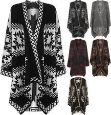 Geometric Poncho Coats & Jackets for Women