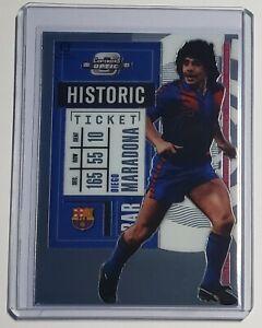 2020 Panini Chronicles Soccer Diego Maradona Optic Contenders Base Barcelona #5