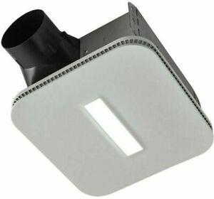 NuTone AERN110DCSL 110 CFM Humidity Sensing Ventilation Fan LED Light - New