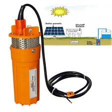 Sommerse  pozzo profondo di acqua pompa solare per stagno irrigazione DC 24V