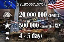 World Of Tanks (WOT) 20 MILL and 500.000 XP | 4-5 days | NOT BONUS CODE |